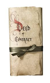 Contract of Deed